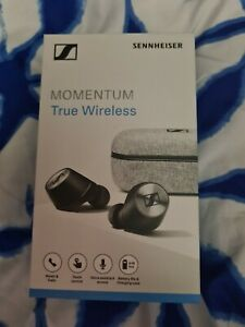 BRAND NEW Sennheiser Momentum True Wireless In Ear Earbuds - Black -