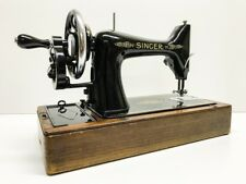 !!!  ANTIQUE  SINGER 99K  Hand Crank SEWING MACHINE FULLY SERVICED  !!!
