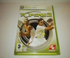 Top Spin 2 pal Spain/España Xbox 360 Original Box 2006