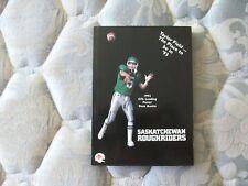 1993 SASKATCHEWAN ROUGHRIDERS MEDIA GUIDE Yearbook KENT AUSTIN Program CFL AD