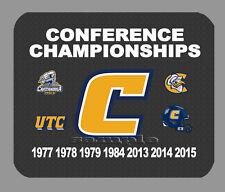 Item#4306 Chattanooga Mocs Championship Football Banner Mouse Pad