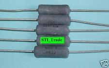 5 Watt 5W Resistors 1.2K Ohm 5% Lot of 5 (Wirewound)