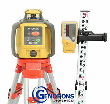 TOPCON RL-H4C SELF-LEVELING ROTARY SLOPE LASER LEVEL + TRIPOD & 10TH GRADE ROD