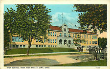 LIMA OH HIGH SCHOOL WEST HIGH STREET P/C