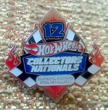 Hot Wheels 2012 12th Collectors Nationals Lapel Pin