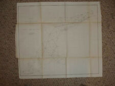 1864 ANTIQUE MAP MAINE MASSACHUSETTS CONNECTICUT RareNR
