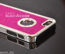 Glitter Bling Case iPhone SE 5 5S 5G Fashion Pink Diamond Rhinestone Brand New