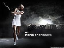RARE MARIA SHARAPOVA TENNIS POSTER WIMBLEDON