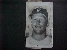 MICKEY MANTLE 1960 ORIGINAL PRESS PHOTO