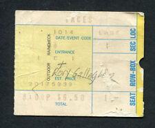 1973 Rod Stewart Faces Rory Gallagher Concert Ticket Stub Long Beach Ooh La La