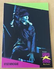 1991 Pro Set Super Stars Musicards U.K. Edition Card #91 Kylie Minogue Nm-Mt