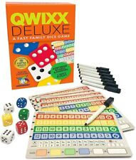 Qwixx Deluxe Dice Game Gamewright GWI 7117 Roll & Write Fast Family Party Mixx