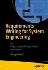 Requirements Writing for System Engineering (Paperback or Softback)