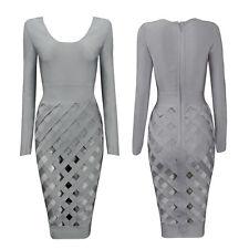 Fashion Womens Long Sleeve  Blouse Shirt Dress Loose Casual Tops Dresses M