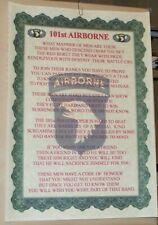 101st Airborne poem