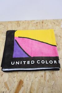 Vintage 1990's United Colors Of Benetton Beach Towel | Multicoloured