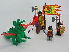 Vintage Castle LEGO - Dragon Masters Minifig Lot w/ Dragon Shields & Accessories