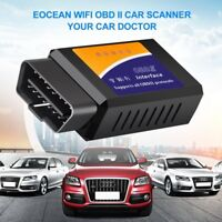 ELM327 WiFi Bluetooth OBD2 Car Diagnostic Scanner Code Reader Tool IOS Android #