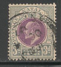 Natal #86 (A23) VF USED - 1902-03 3p King Edward VII