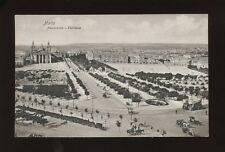 Malta FLORIANA Panorama pre1919 PPC
