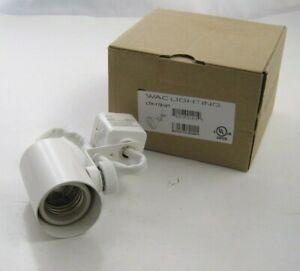 WAC LTK-178-WT L Series Low Voltage Track Head - White - Prepaid Shipping