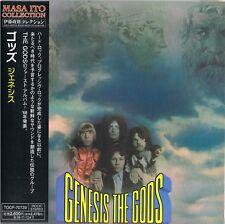 The Gods – genesis - japan papersleeve -mini LP CD- TOCP 707739 -masa ito c.