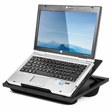 Halter Lap Desk Laptop Stand with 8 Adjustable Angles Dual Microbead Cushio