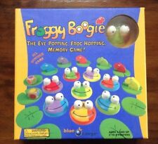 Froggy Boogie The Eye Popping Frog Hopping Memory Game Wooden Age 4+ Family Fun
