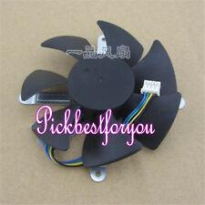 85mm AD0912UB-U7BGL Fan for ATI Sapphire HD 5870 Video Card 62mm 4Pin #M754 QL