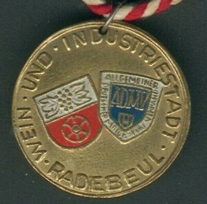 Medal I. Trail 15. Sept. 1968 in Zinnwald Georgenfeld/Radebeul in Sachsen, RARE