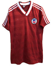 CHILE WORLD CUP 1980 ADIDAS FOOTBALL SOCCER JERSEY SHIRT VINTAGE L TRIKOT