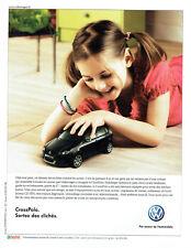 Publicité Advertising 117  2006  Volkswagen  la Cross Polo  vw