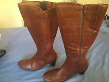 Pikolinos Ladies Brown Knee High Boots UK Size 5/38 (BT07).