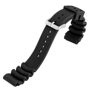 Multicolor 20/22mm Silicone Watch Band Diver Belt Rubber Strap Spring Bar Bangle