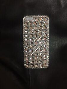 Iphone 6 Tear Drop Rhinestone Case Handmade Size 4.7 Crystal