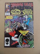 Strange Tales (vol 2)  3. Cloak & Dagger / Dr Strange . Marvel 1987 . FN +