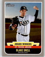 2019 Topps Heritage High Number BLAKE SNELL Award Winners Rays AW-3