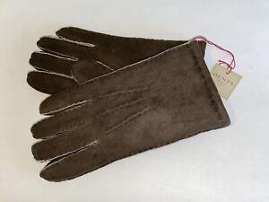 Genuine Dents gloves - Lambskin - Mahogany - York