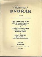 A. Dvorak ~Zigeunermelodien - für tiefe Stimme und Klavier