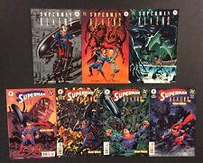SUPERMAN VS ALIENS #1-3 & GOD WAR #1-4 Comic Books 2 FULL SERIES Dark Horse DC