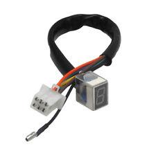 7-Line modified motorcycle led digital gear indicator shift lever sensor- red EW