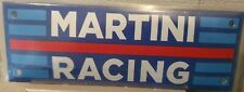 MARTINI RACING (GARAGE) PORCELAIN EMAILLE / ENAMEL SHIELD, SIGN, PLATE. RETRO