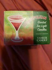 Super RARE Box Of 12 COSMOPOLITAN Yankee Candle Tealights New In Box