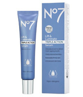 No7 Lift & Luminate Triple Action Serum - 1oz  NEW WITH BOX