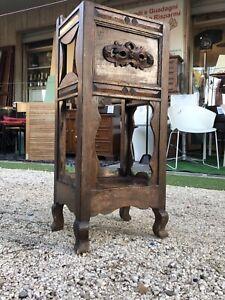 Mobiletto Antico / Portavasi Legno