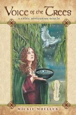 Voice of the Trees Celtic Divination Oracle NEW 25 Cards 216 pg Book M. Mueller