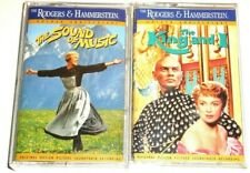 2X Cassette Soundtrack Musical Movie The Sound of Music & The King and I