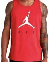 Nike Air Jordan Jumpman Men's Sizes Athletic Tank Top Red