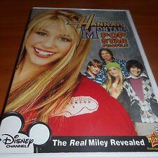 Hannah Montana: Pop Star Profile (DVD, Full Frame 2007) Miley Cyrus Used Disney