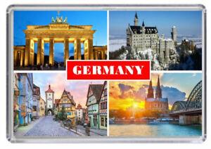 Germany Fridge Magnet 01 free postage